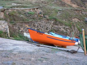 Boats at Priest's Cove, Cape Cornwall