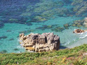 Sea near St. Just